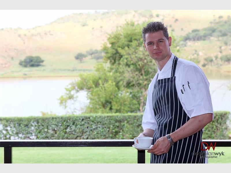 Chef Chris Tustian - Photo by Deon Van Wyk