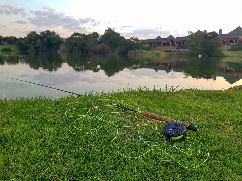 Fly Fishing at Kloofzicht Lake