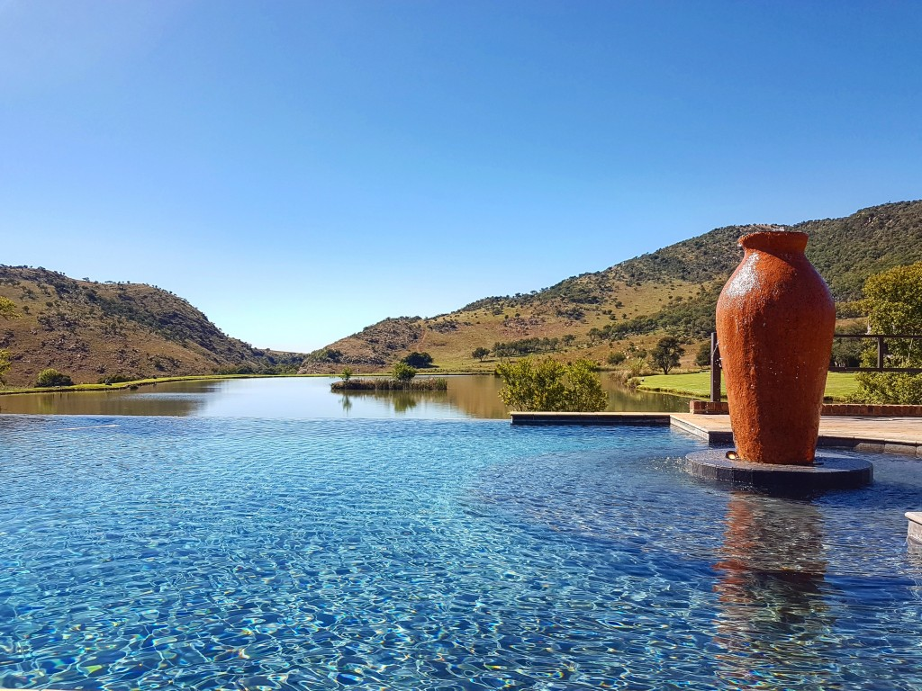 Infinity Pool at Kloofzicht Lodge