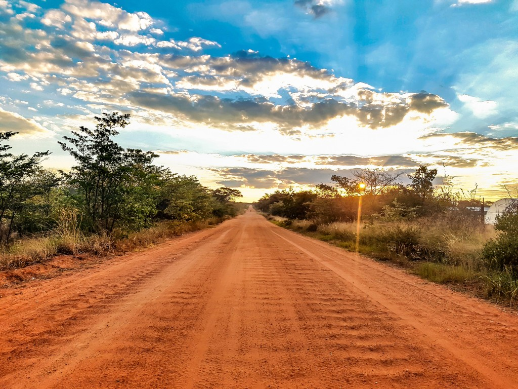 The road to Matamba Bush Camp, Limpopo