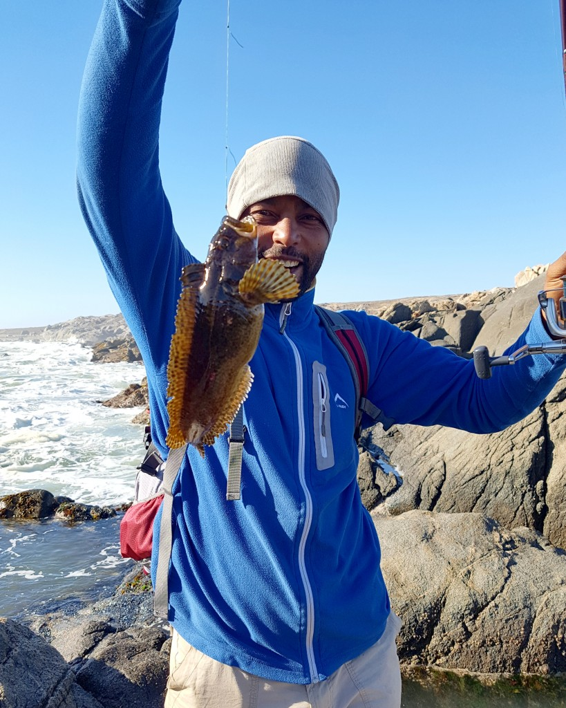 Namaqua National Park - Fishing at Boulder Baai