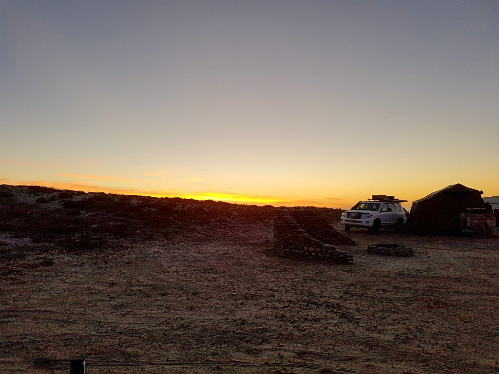 Namaqua National Park - Sunset at Boulder Baai